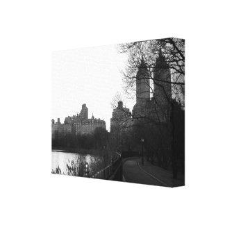 Schwarzes u. Weiß Central Park-New York City NYC Leinwanddruck