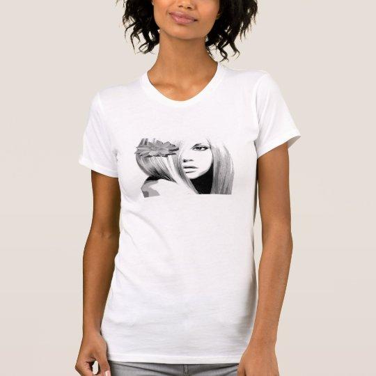 Schwarzes u. Weiß T-Shirt