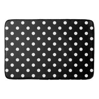 Black & White Polka Dot Modern Abstract Pattern