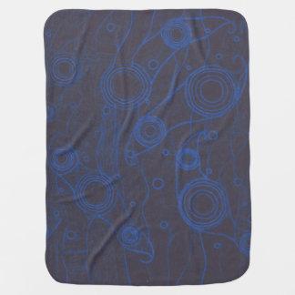 Schwarzes und Blau Puckdecke