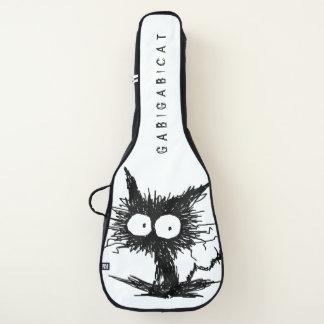Schwarzes Unkempt Kätzchen GabiGabi Gitarrentasche