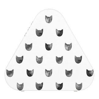 Schwarzweiss-Chic-niedliches Katzen-Muster Bluetooth Lautsprecher