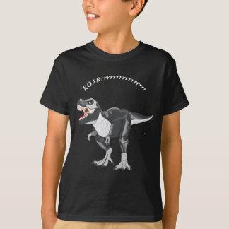 Schwarzweiss-Dinosaurier T Rex T-Shirt