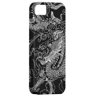 Schwarzweiss-Drache iPhone 5 Kasten Barely There iPhone 5 Hülle
