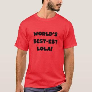 Schwarzweiss-Geschenk T-Shirts des Gut-est Lola