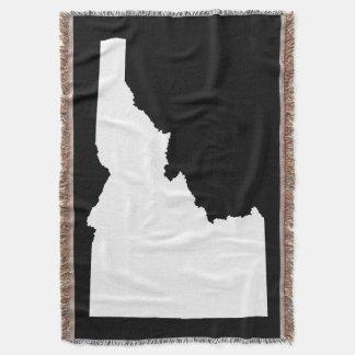 Schwarzweiss-Idaho-Form Decke