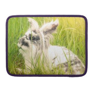 Schwarzweiss-Kaninchen Sleeve Für MacBook Pro
