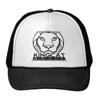 Schwarzweiss-Logo König-Cat Music Kult Cap