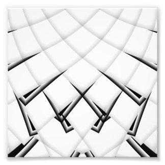 Schwarzweiss-Muster Fotodruck