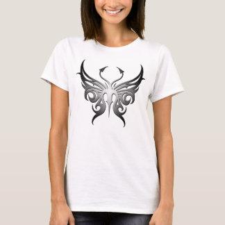 Schwarzweiss-Schmetterlingst-stück! T-Shirt