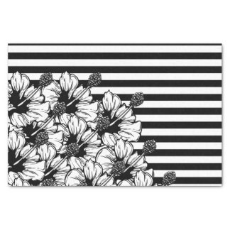 Schwarzweiss Seidenpapier