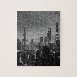 Schwarzweiss-Shanghai