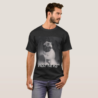 Schwarzweiss-Sprössling T-Shirt