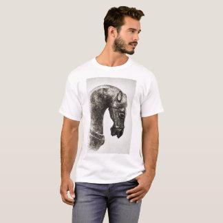 Schwarzweiss-Stallion T-Shirt