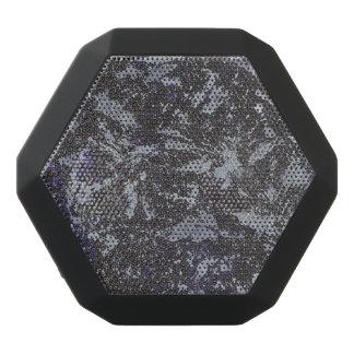 Schwarzweiss-Tinte auf lila Hintergrund Schwarze Bluetooth Lautsprecher