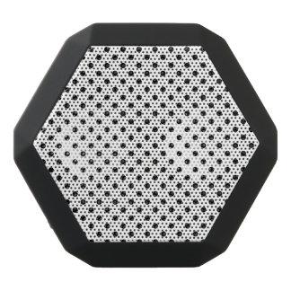 Schwarzweiss-Tupfen-Muster Schwarze Bluetooth Lautsprecher