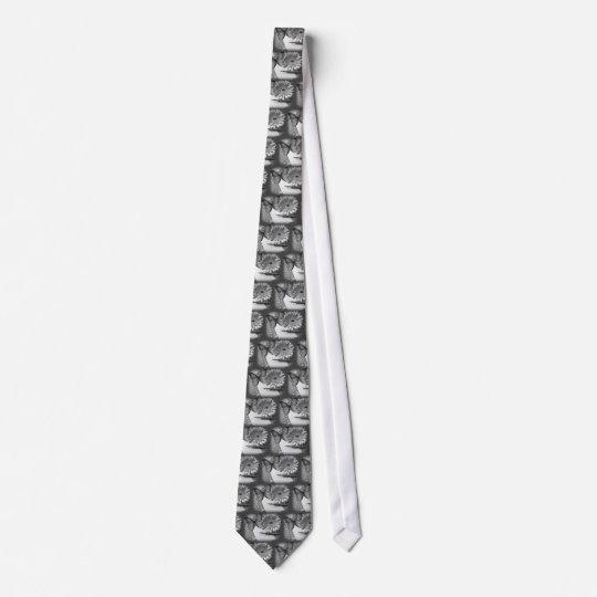 Schwarzweiss-- und Malerei Krawatten