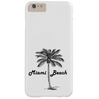Schwarzweiss-West- Palm Beach u. Palmenentwurf Barely There iPhone 6 Plus Hülle