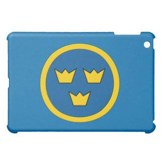 Schwede drei Kronen Flygvapnet iPad Mini Hülle