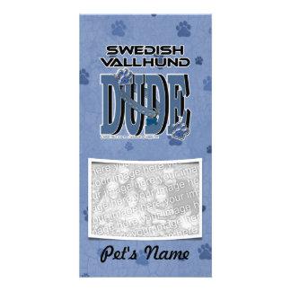 Schwede Vallhund TYP Photokartenvorlagen