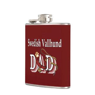 Schwede Vallhund Vati Flachmann