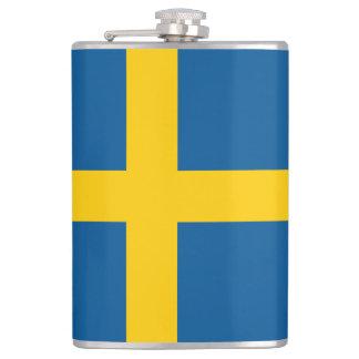 Schweden-Flagge Flachmann