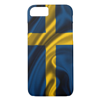 Schweden-Flagge iPhone 7 Hülle