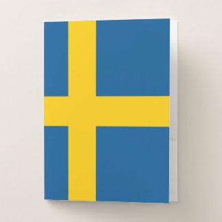 Schweden-Flagge Mappe