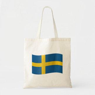 Schweden-Flagge Tragetasche