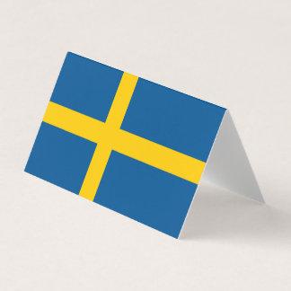 Schweden-Flagge Visitenkarten