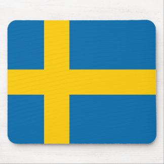 Schweden-Flaggenqualität Mauspads
