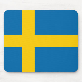 Schweden-Flaggenqualität Mousepad