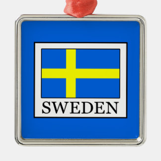 Schweden Silbernes Ornament