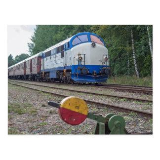 Schweden: TMX 1009 (NOHAB) bei Kvillsfors Postkarte