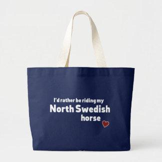 Schwedisches Nordpferd Jumbo Stoffbeutel