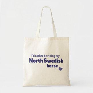 Schwedisches Nordpferd Tragetasche