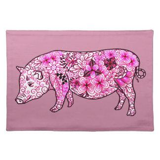 Schwein 3 tischset