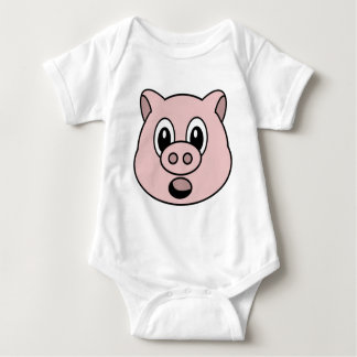 Schwein Baby Strampler