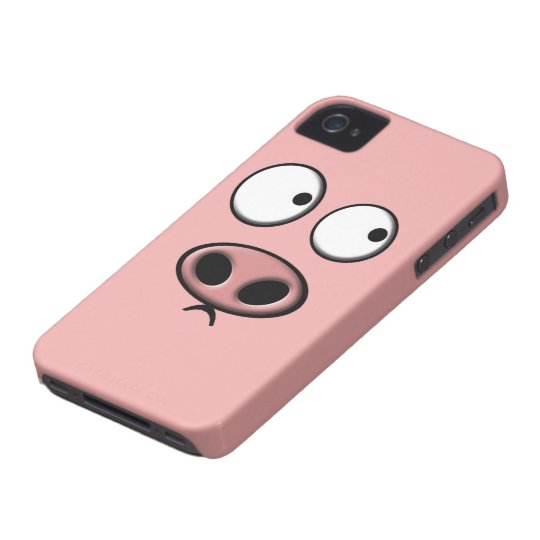 Schwein-Beere Case-Mate iPhone 4 Hüllen