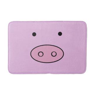 Schwein-Gesicht, Schwein-Nase, niedliches kleines Badematte