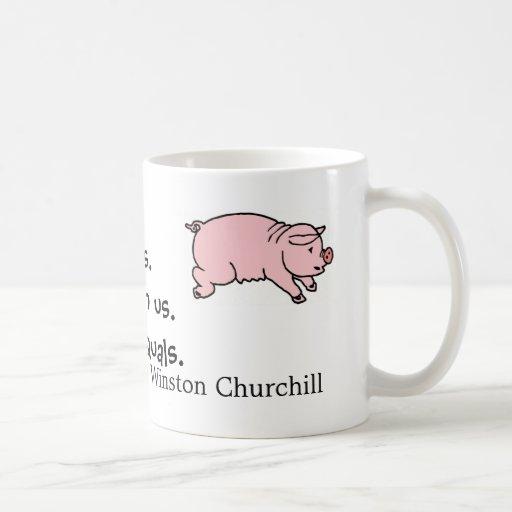 Schwein-Tasse