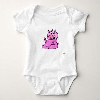Schweine 28 baby strampler