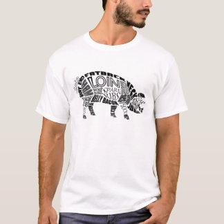 Schweinefleisch Typogram T-Shirt