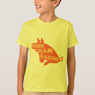 Schweinefleischschinkenspeck T-Shirt
