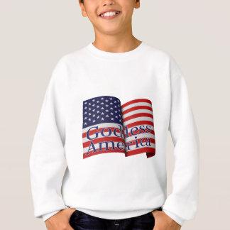 """Schweiß """"des gottlosen Amerikas"""" des Kindes Sweatshirt"""