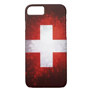Schweiz; Die Schweiz-Flagge iPhone 8/7 Hülle