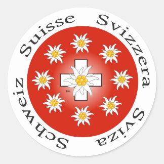 Schweiz  Suisse  Svizzera  Svizra Aufkleber