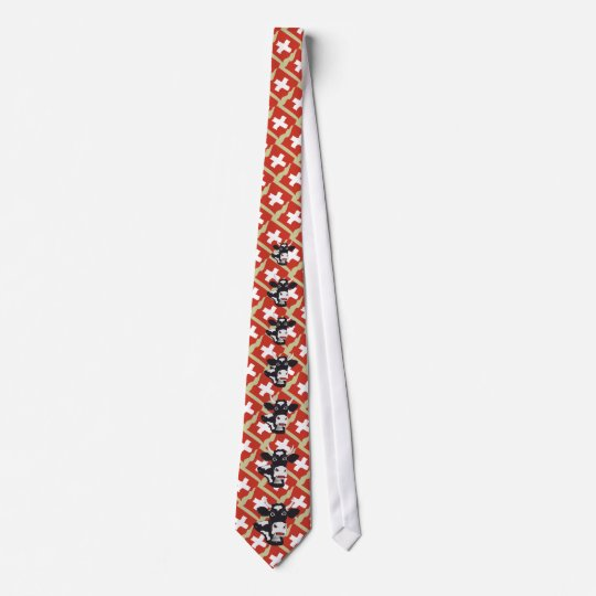 Schweiz Suisse Svizzera Svizra Krawatte