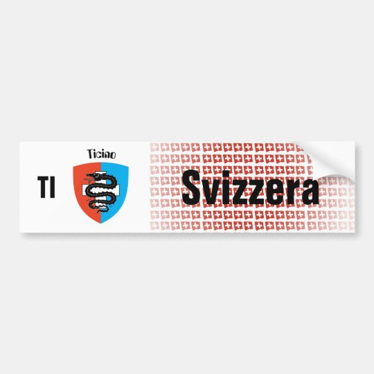 Schweiz Svizzera Suisse Tessin Autoaufkleber