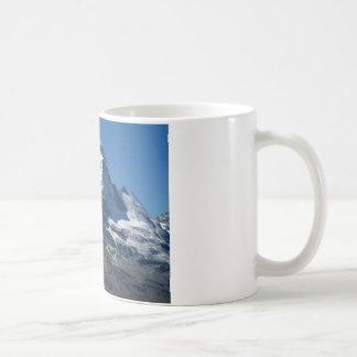 Schweizer Alpen-klassische weiße Tasse Matterhorns